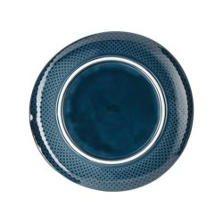 Teller flach 27 cm Ocean Blue JUNTO