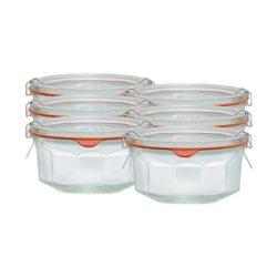 Facetten-Einkochglas REX 290 ml 6er Karton