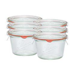 Sturz-Einkochglas REX 370 ml 6er Karton