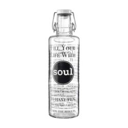 Trinkflasche Fill your Life with soul 1 Liter