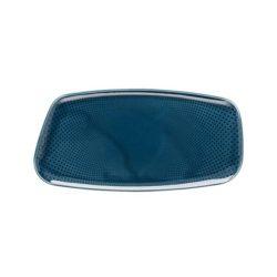 Platte eckig 30×15 cm Ocean Blue JUNTO