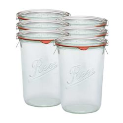 Sturz-Einkochglas REX 850 ml 6er Karton