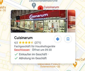 Cuisinarum - Google Maps