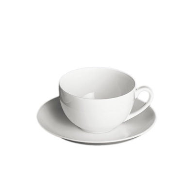 Kaffee-Obertasse rund