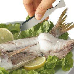 Fischgrätenpinzette breit