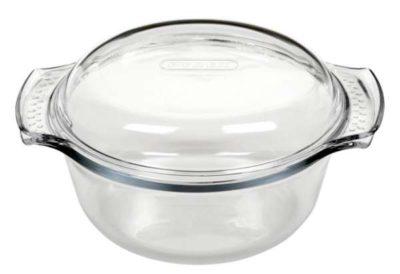 Kasserolle rund mit Deckel 1,4 Liter