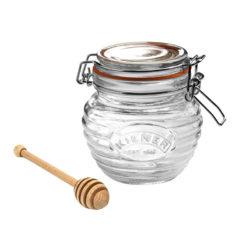 Honigglas Set