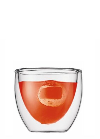 PAVINA doppelwandiges Glas 2er Set 0,08L