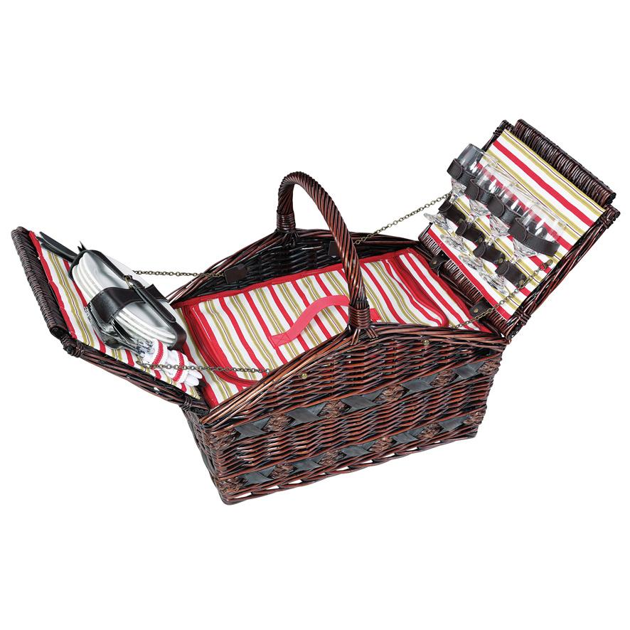 Picknickkorb COMO für 4 Personen