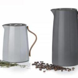 Kaffeekanne EMMA dunkelgrau
