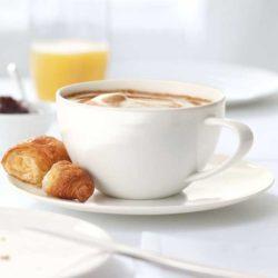 Tasse mit Untere CAFE AU LAIT