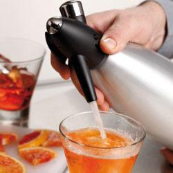 Soda Siphon Edelstahl 1 Liter