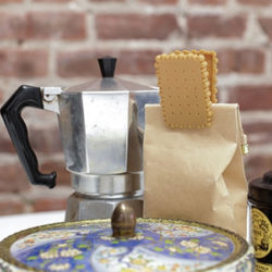 Bag-Clips TEA BISCUIT 4 tlg