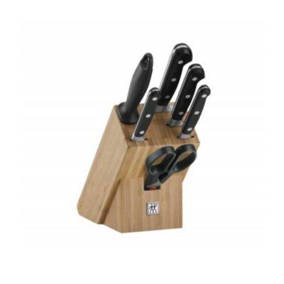 Messerblock 7-tlg. Bambus