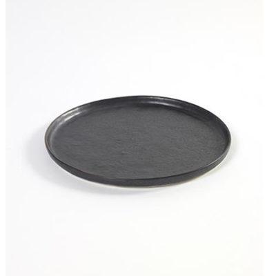 PURE Teller flach 16cm schwarz