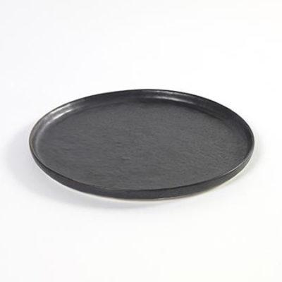 PURE Teller flach 27cm schwarz