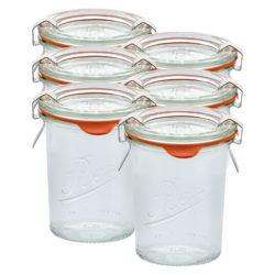Sturz-Einkochglas REX 160 ml