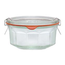 Facetten-Einkochglas REX 290 ml einzeln