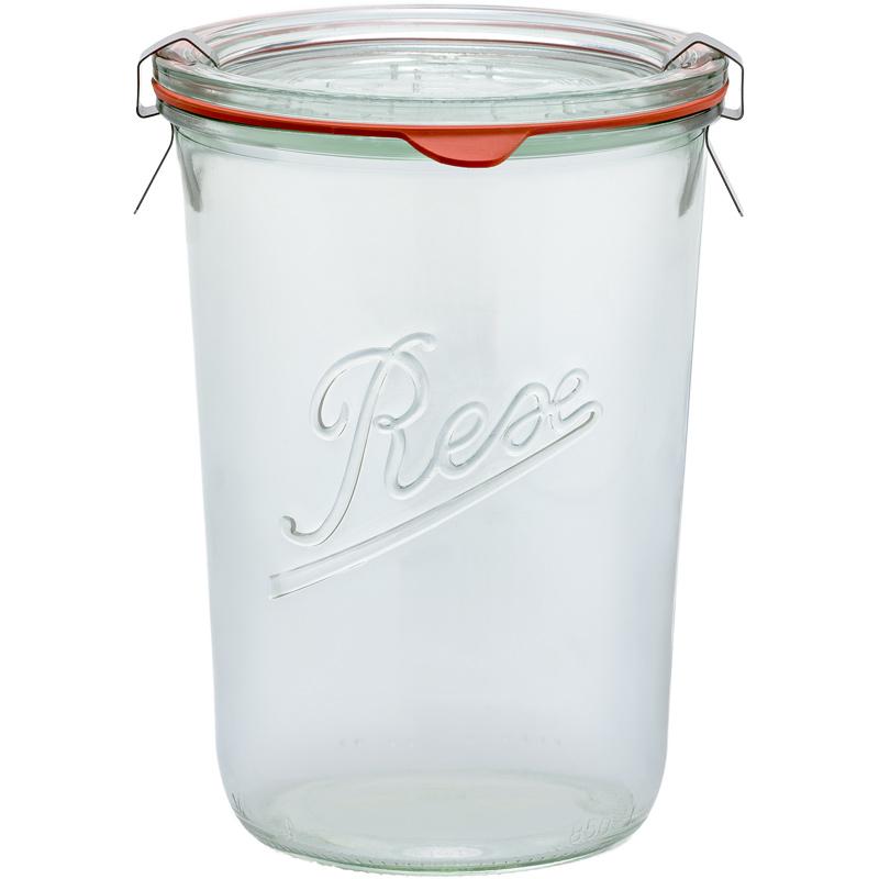 Sturz-Einkochglas REX 850 ml einzeln
