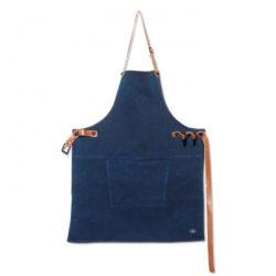 Schürze BBQ Style Denim dark blue