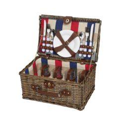 Picknickkorb LENNO für 4 Personen