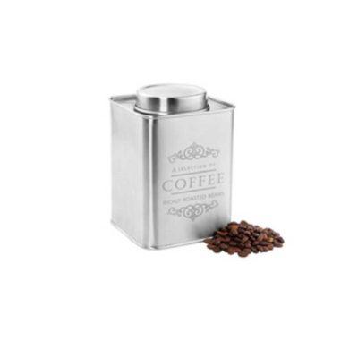 Kaffeedose Metall satiniert 500 g