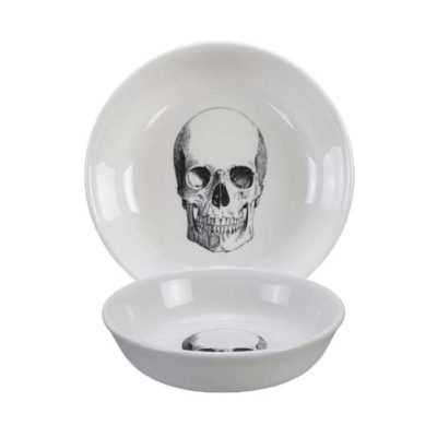 SKULL Design Bald Skull Schale 11 cm
