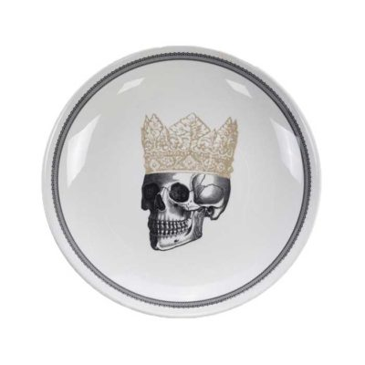 SKULL Design Crown Platte 28 cm