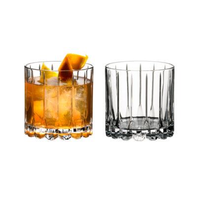 Drink Specific Rocks Glas 2er Set
