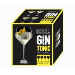 Gin-Tonic Stielgläser Set 4-tlg.