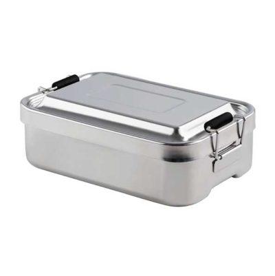 Lunchbox aus Edelstahl 23 x 15 cm