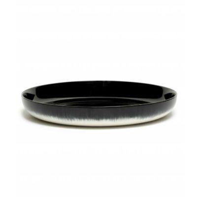 Schale 27 cm schwarz/weiss Var B