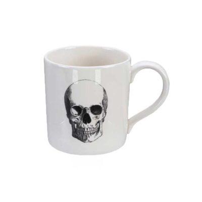 SKULL Design Bald Skull Henkelbecher
