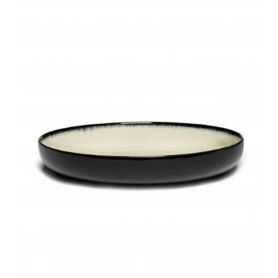 Schale 24 cm schwarz/weiss Var D
