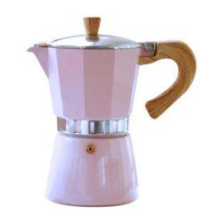 Espressokocher VENEZIA pink 3 Tassen