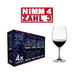 Riedel VINUM Cabernet/Bordeaux 4 Stk.
