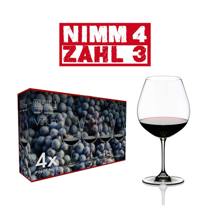 Riedel VINUM Pinot Noir 4 Stk.