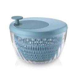Salatschleuder SPIN&STORE mit Deckel hellblau
