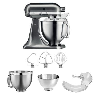 Küchenmaschine ARTISAN KSM185 Metall gebürstet