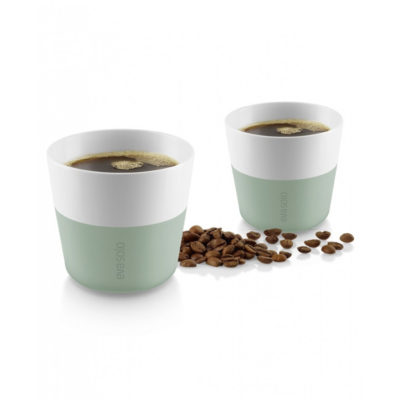 Kaffeebecher LUNGO faded green