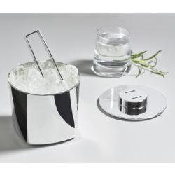 Eiswürfelbehälter ROCKS mit Zange