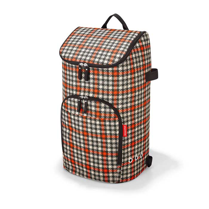 Citycruiser Bag black glencheck red
