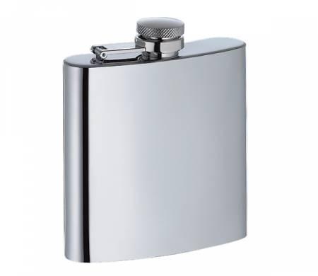 Flachmann aus Edelstahl mit Trichter 150 ml
