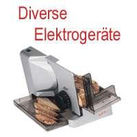 Elektrogeräte Diverse