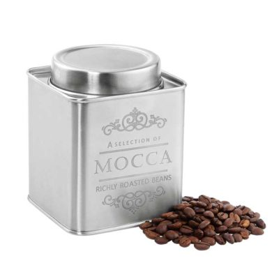 Kaffeedose Metall satiniert 250 g