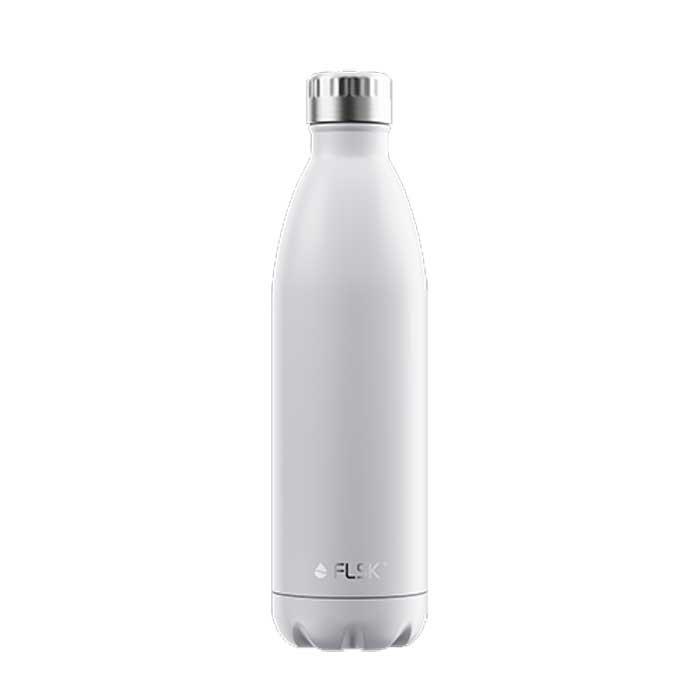 Isolierflasche uni 700 ml weiss