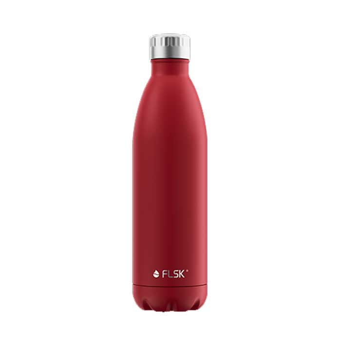 Isolierflasche uni 700 ml rot