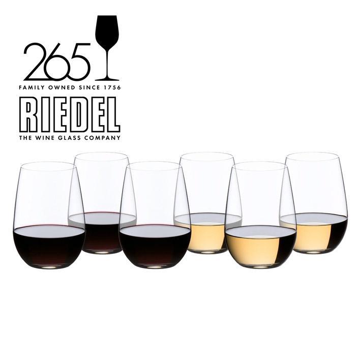 O Riesling/Sauvignon Becher 6er Set