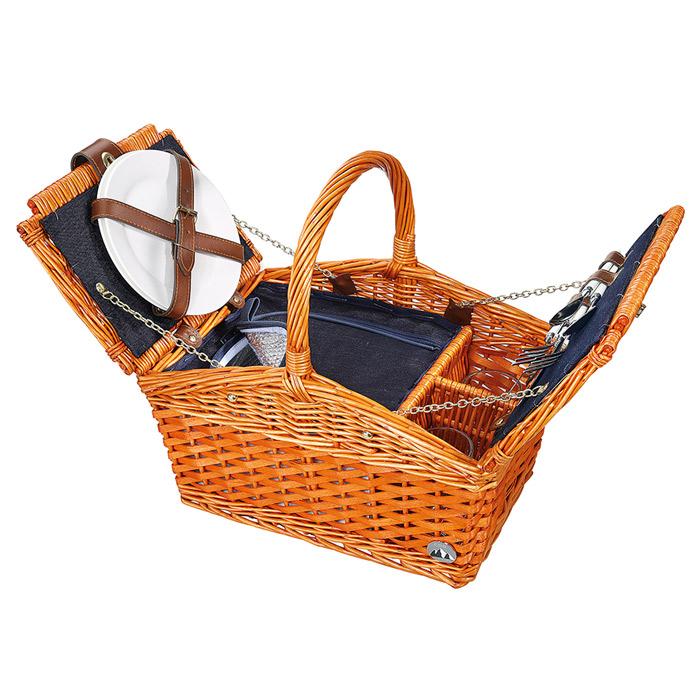Picknickkorb SALERNO für 2 Personen