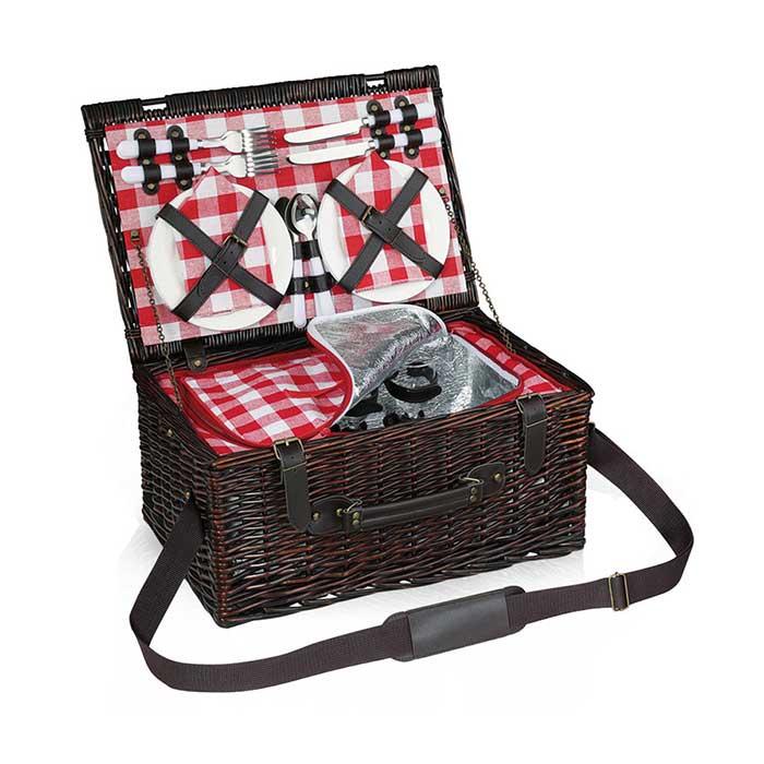 Picknickkorb VARESE für 4 Personen